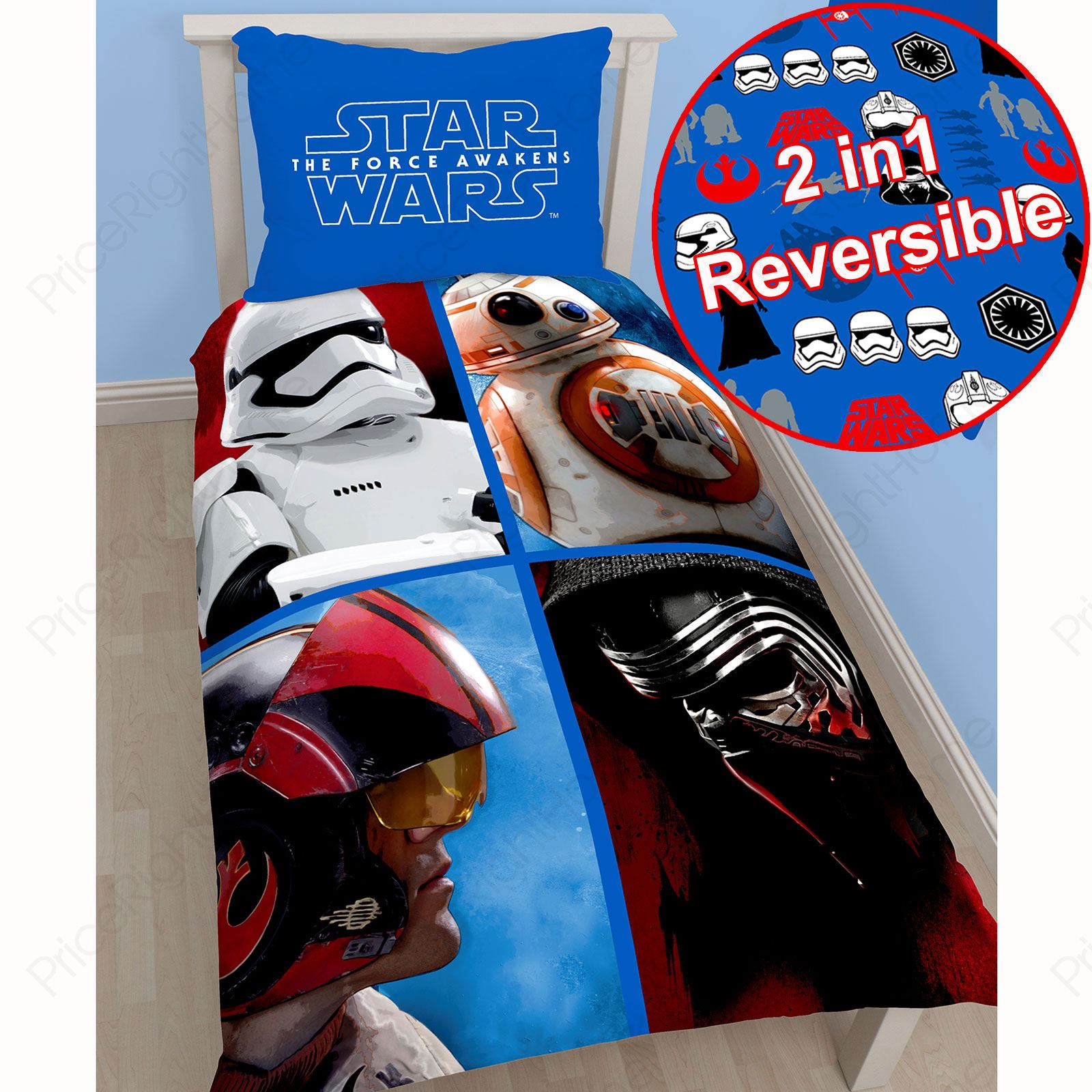 star wars funda de edred n ropa de cama dormitorio new and. Black Bedroom Furniture Sets. Home Design Ideas