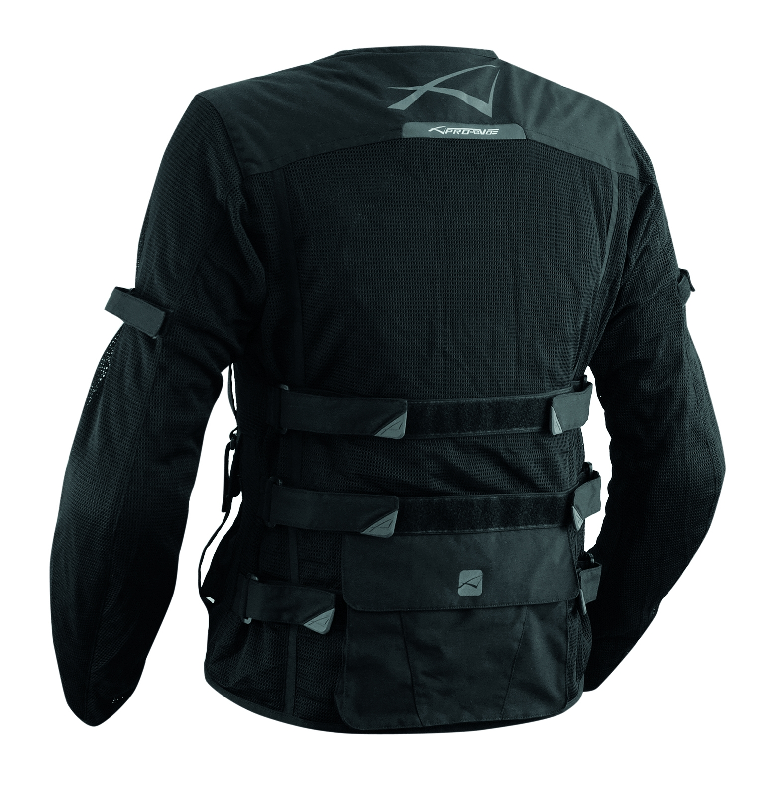 Chaqueta-Moto-Verano-Protecciones-Homologado-Ce-Tejido-Red-Malla-Respirable Indexbild 3