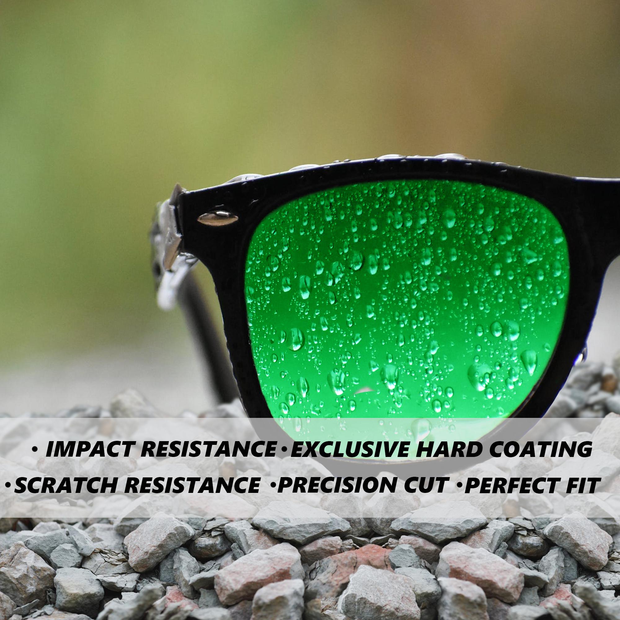 Replacement Lenses for VON ZIPPER ELMORE Sunglasses Anti-Scratch Multi-Color