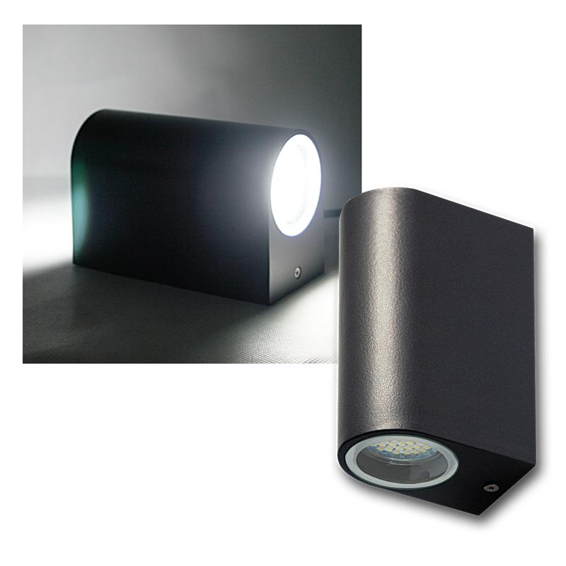 Led luz de pared para exterior y interior luminarias casa for Luces de pared interior
