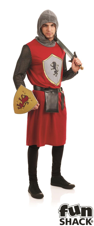 Medieval-Real-Reyes-CABALLERO-Arthur-Adulto-Disfraz-Hombre