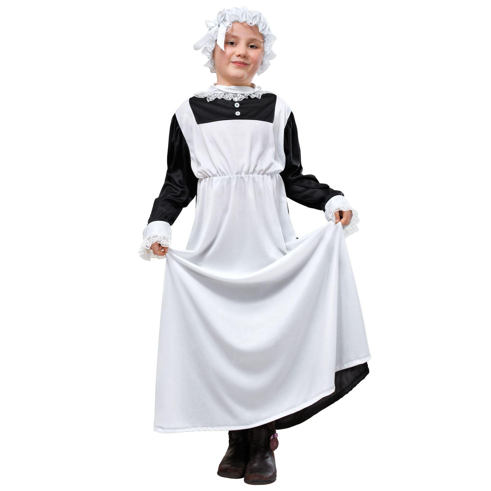 Kinder Victorian Maid Kostüm Buch Woche Historische Dienstmädchen ...