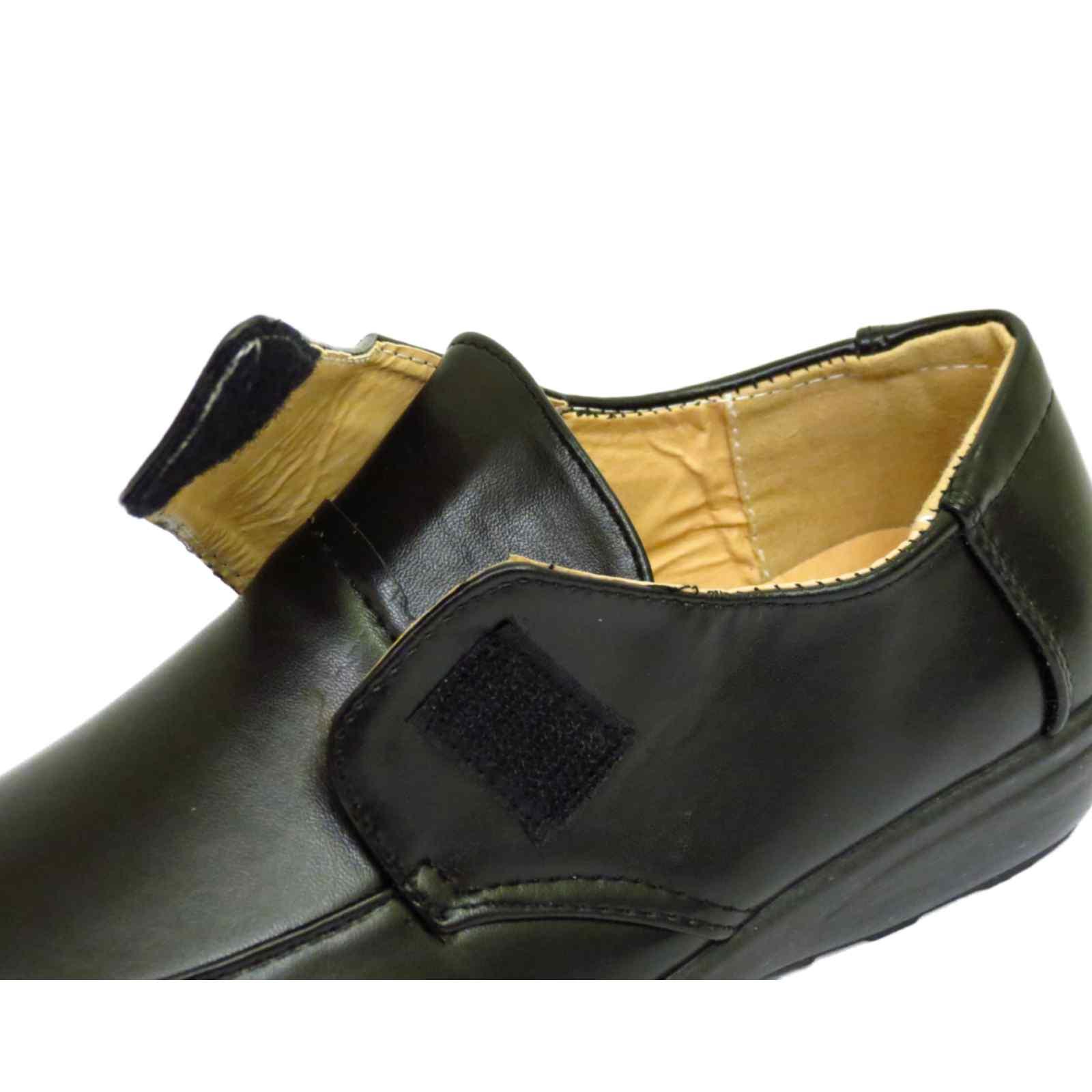 Mujer Negro Sin Cordones Cómodo Elegante Trabajo confort Casual Zapatos De CuñA