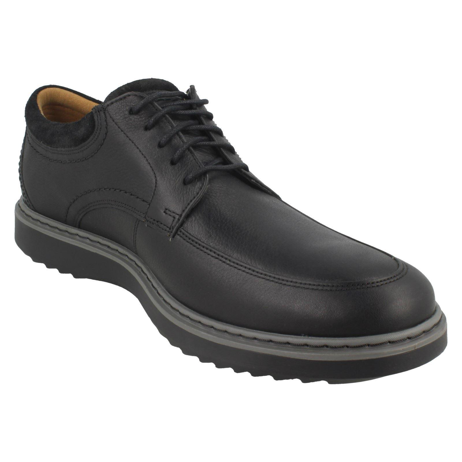 Detalles de Hombre sin Estructura By Clarks Zapatos Casuales con Cordones un Geo Lo