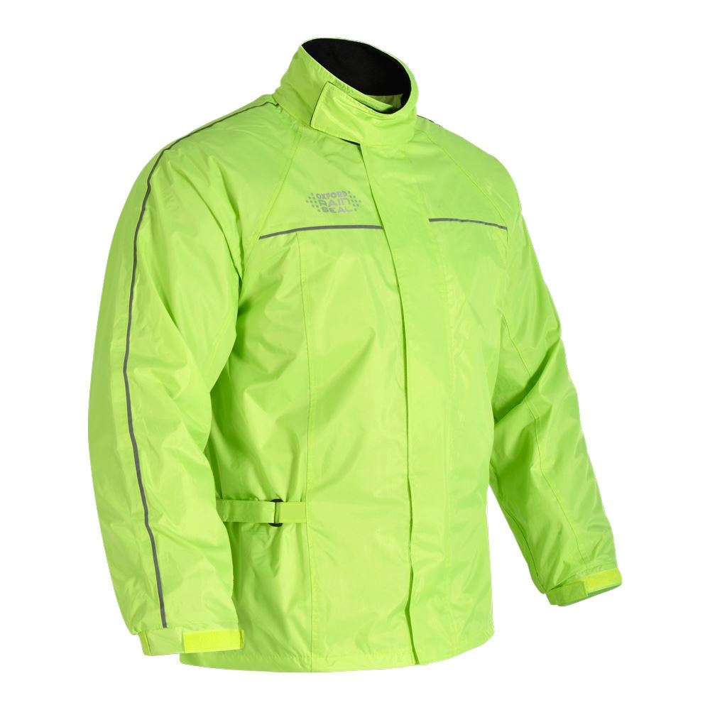 Oxford Rainseal All Weather Moto Motocicletta sopra Giacca Impermeabile