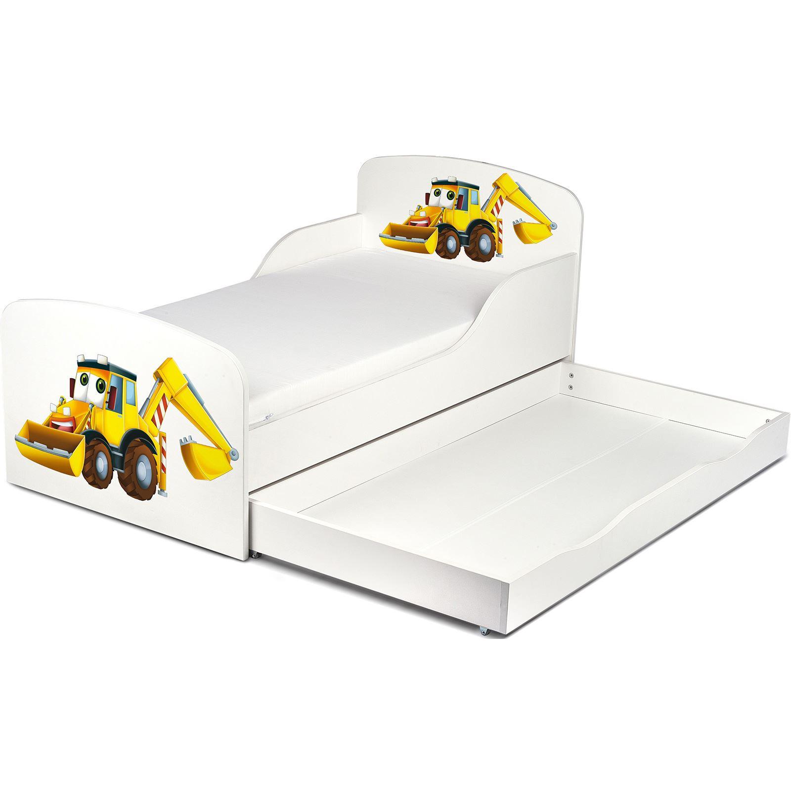 Price-Right-Home-Excavadoras-Cama-Infantil-con-o-Sin-Almacenaje-Colchon miniatura 16