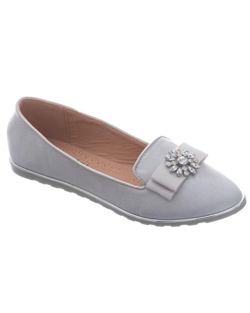 Shelikes Womens NewFashion Diamante Comfy Slip on Flip Flop Casual Shoes