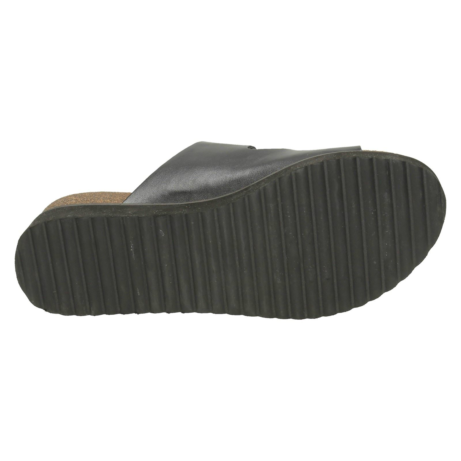 Down To Earth Ladies Thick Sole Sandals