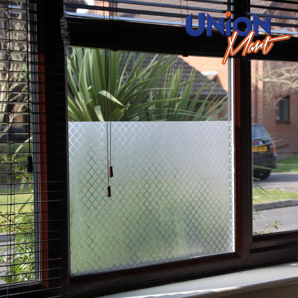 fenster folie frosted einweg spiegel t nung privatsph re reflektierend ebay. Black Bedroom Furniture Sets. Home Design Ideas