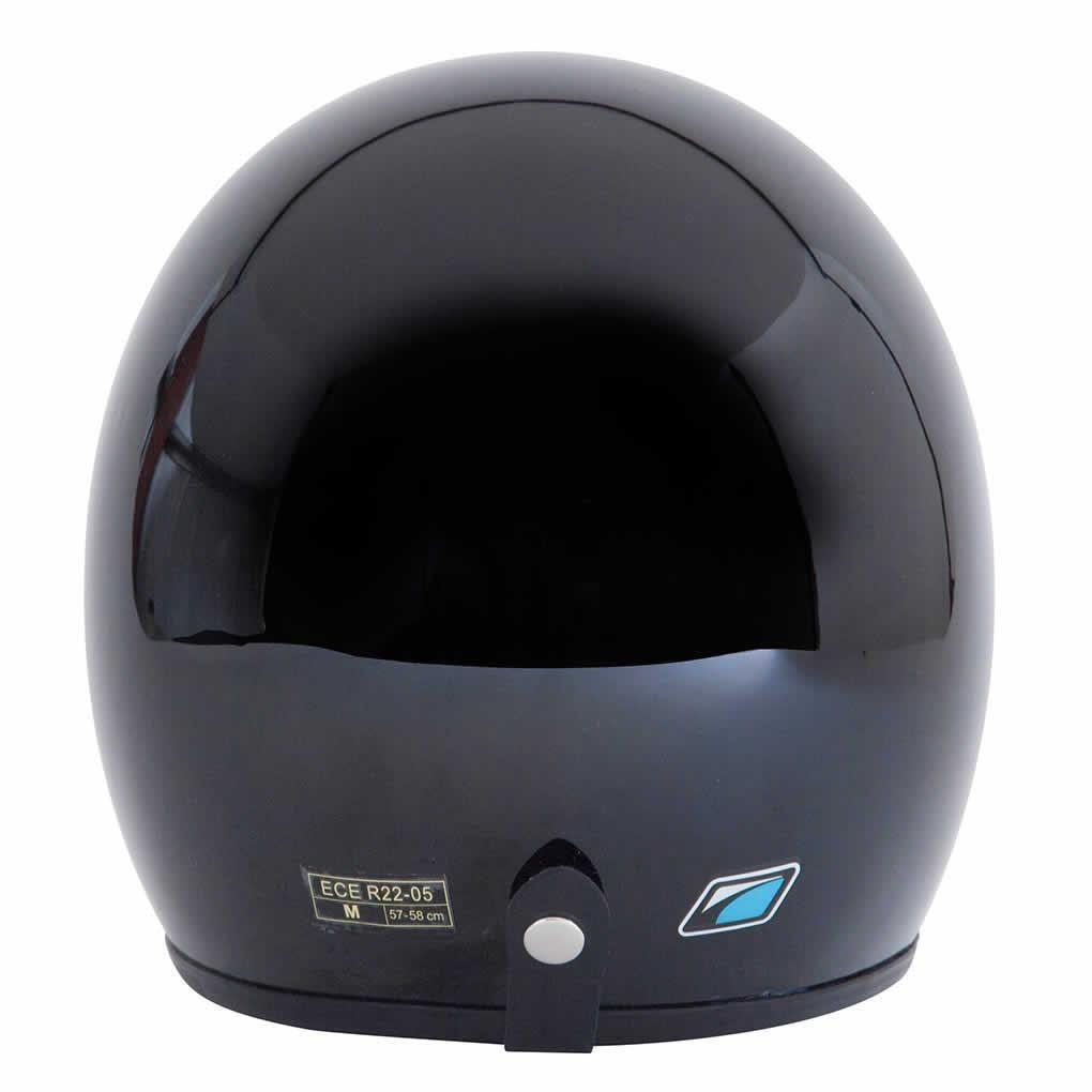 Spada-Casque-Moto-Jet-Ouvert-Noir-Brillant miniature 13