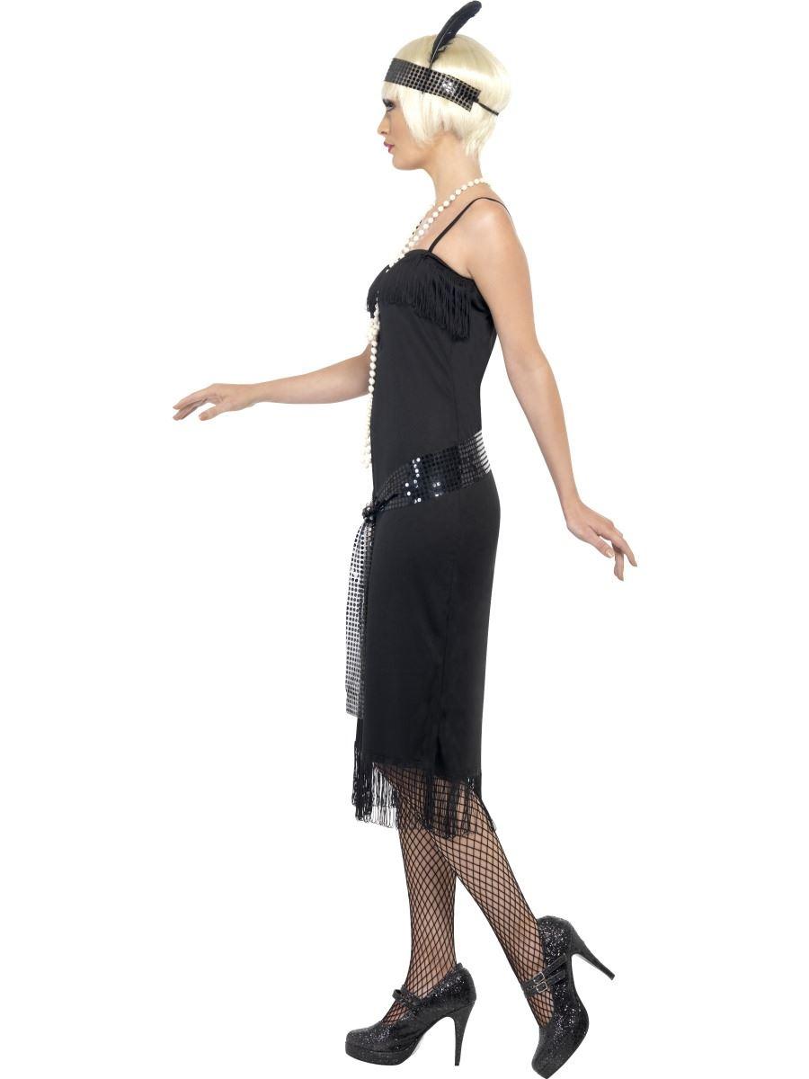 Mujer-Negro-Flapper-Anos-1920-de-Anos-30-Charleston-Gatsby-Disfraz