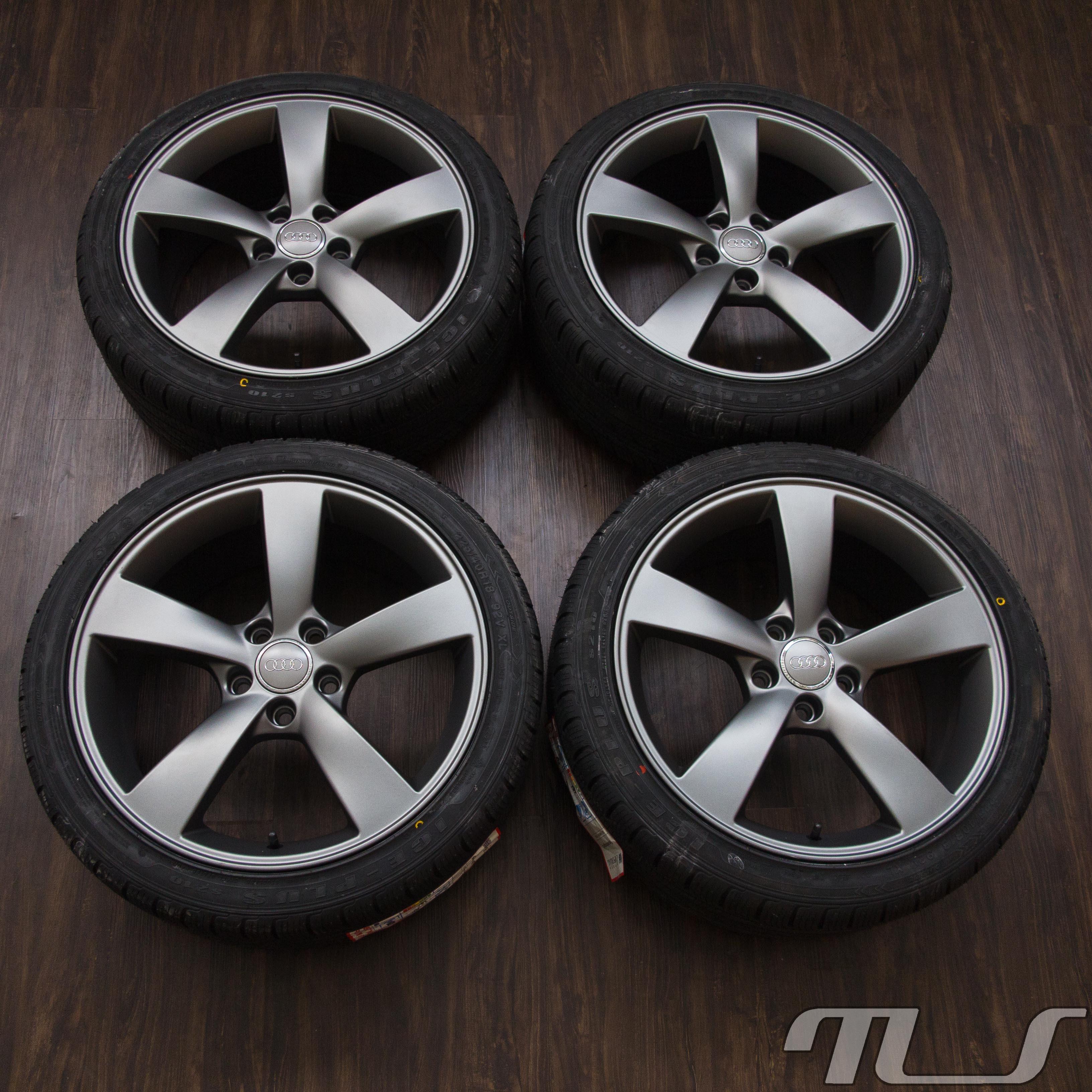 18 Zoll Winter Tires For Audi A3 8P A4 8E B8 A5 A6 4F 4G