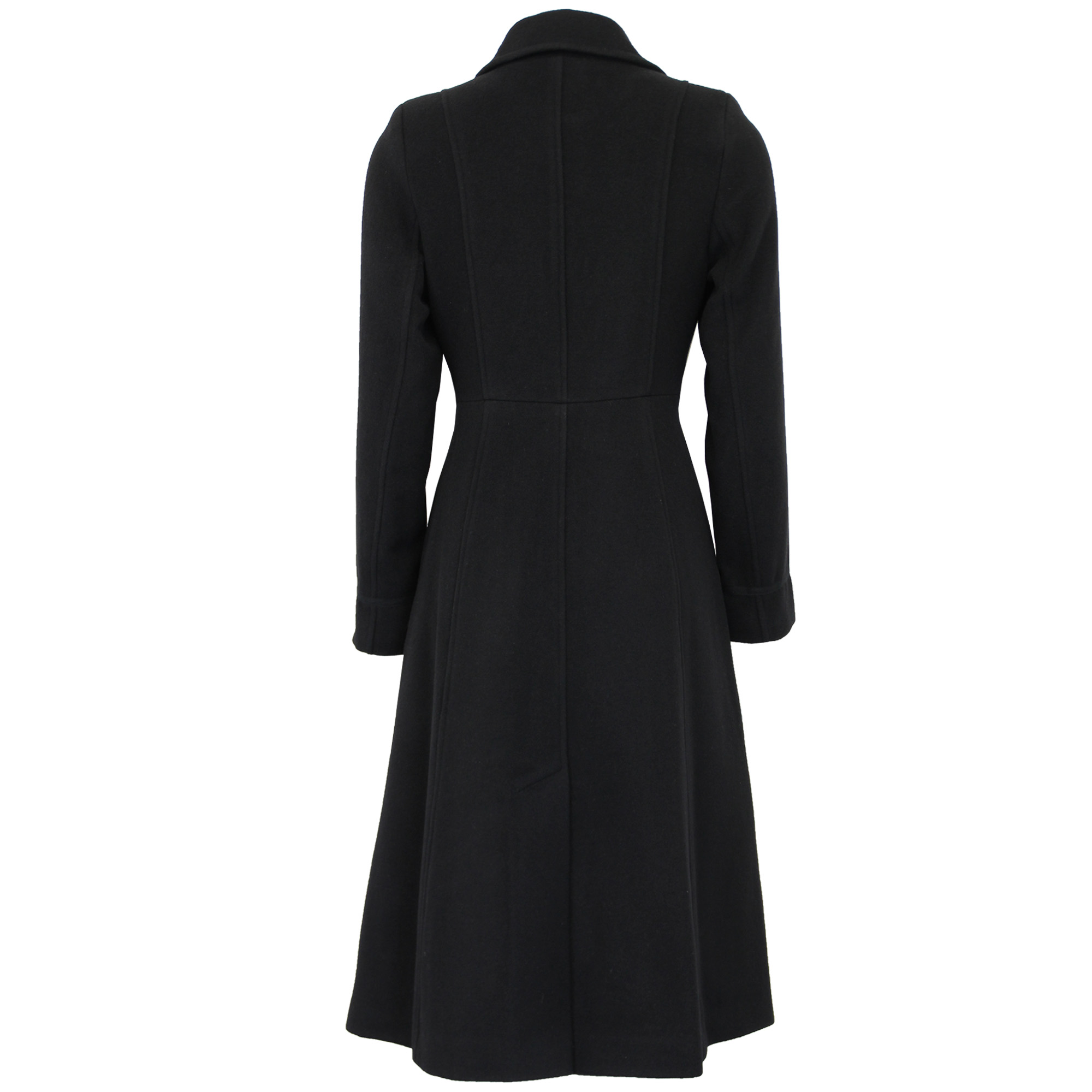 Ladies Wool Cashmere Coat Womens Jacket Outerwear Trench ...