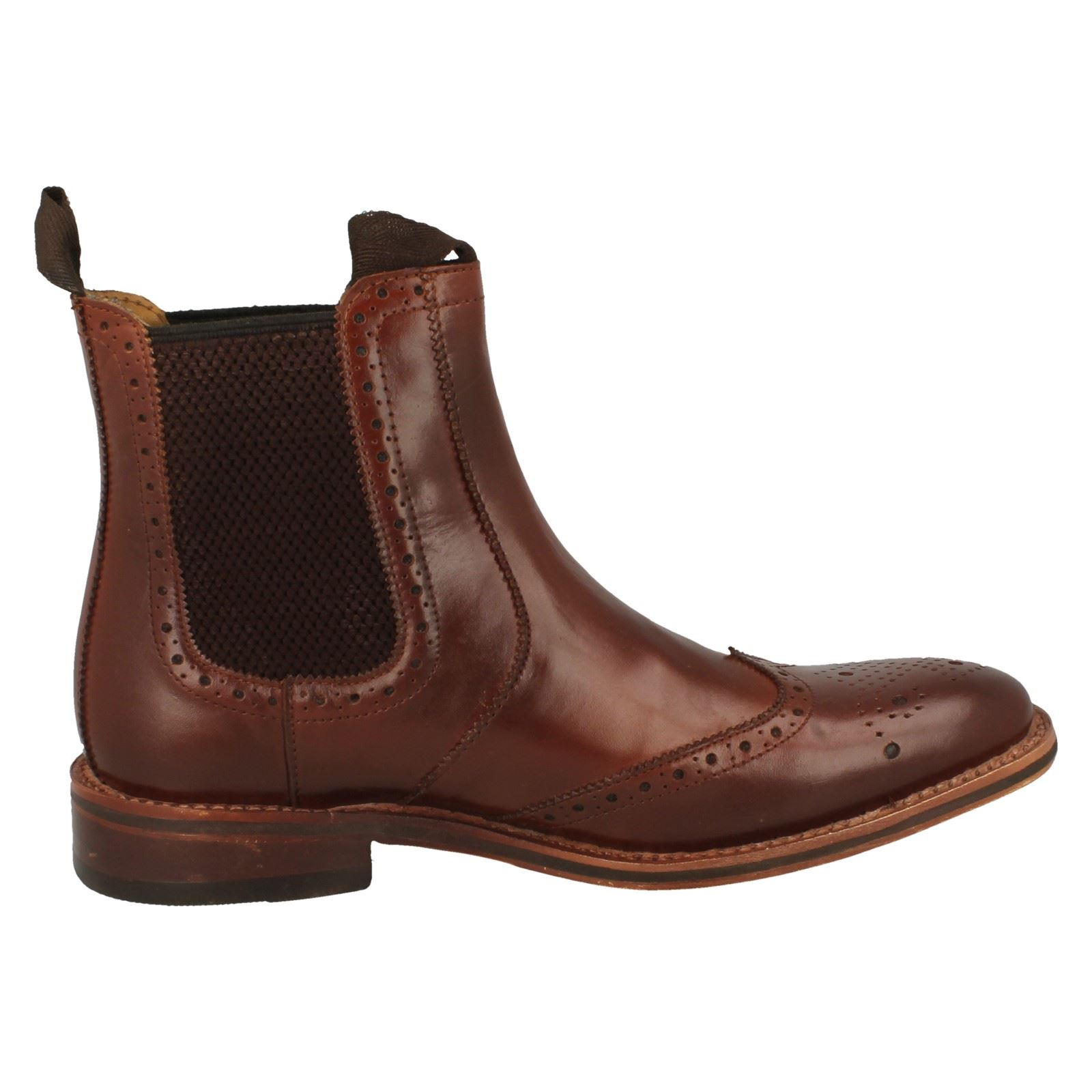 Mens-Catesby-Ankle-Boots-MCATESCW158T thumbnail 16