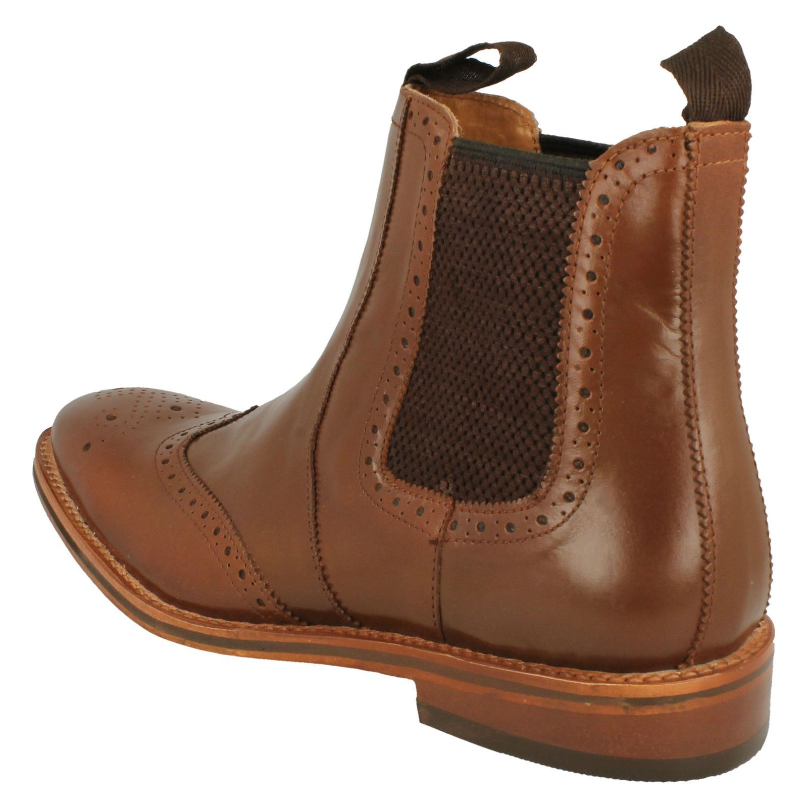 Mens-Catesby-Ankle-Boots-MCATESCW158T thumbnail 4
