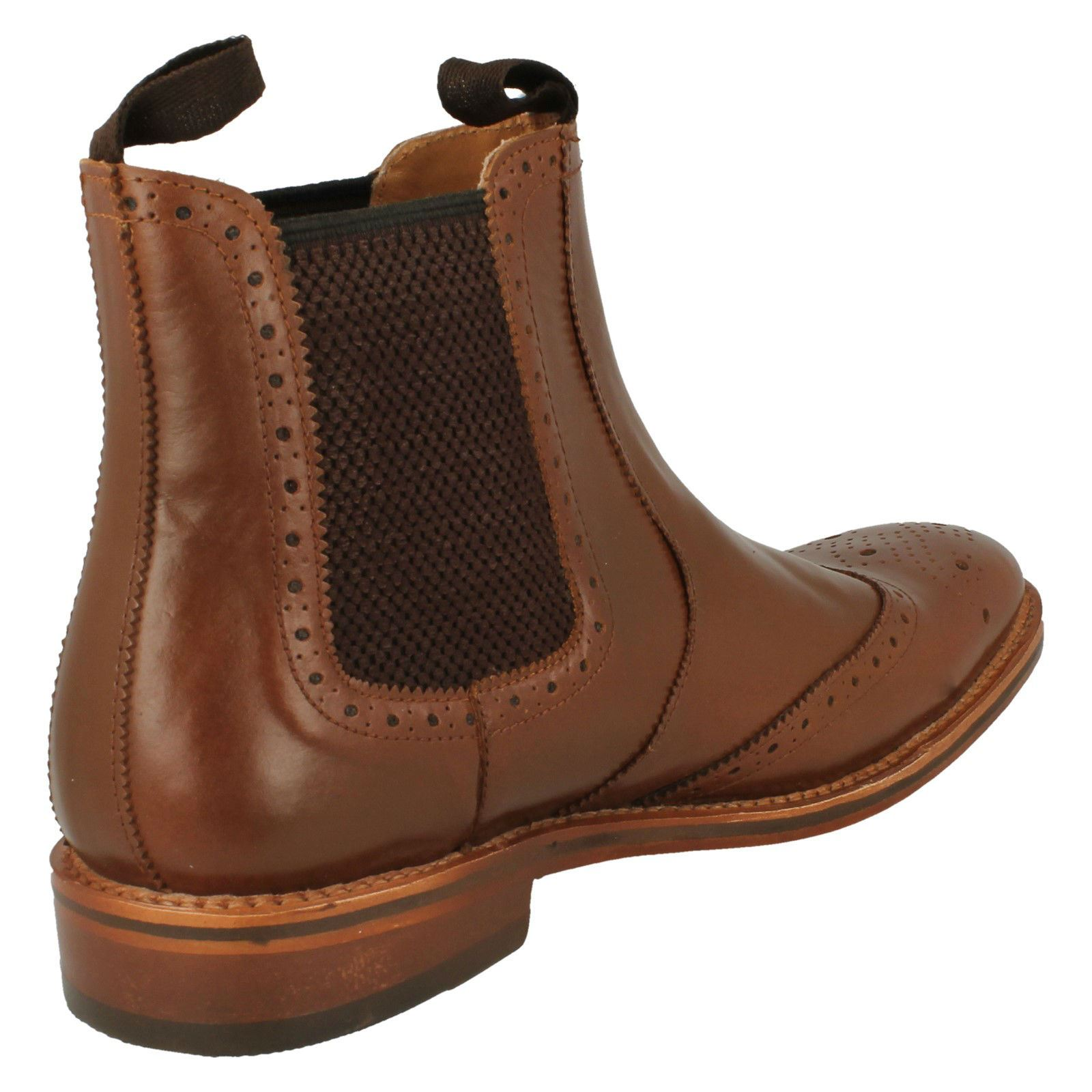 Mens-Catesby-Ankle-Boots-MCATESCW158T thumbnail 3