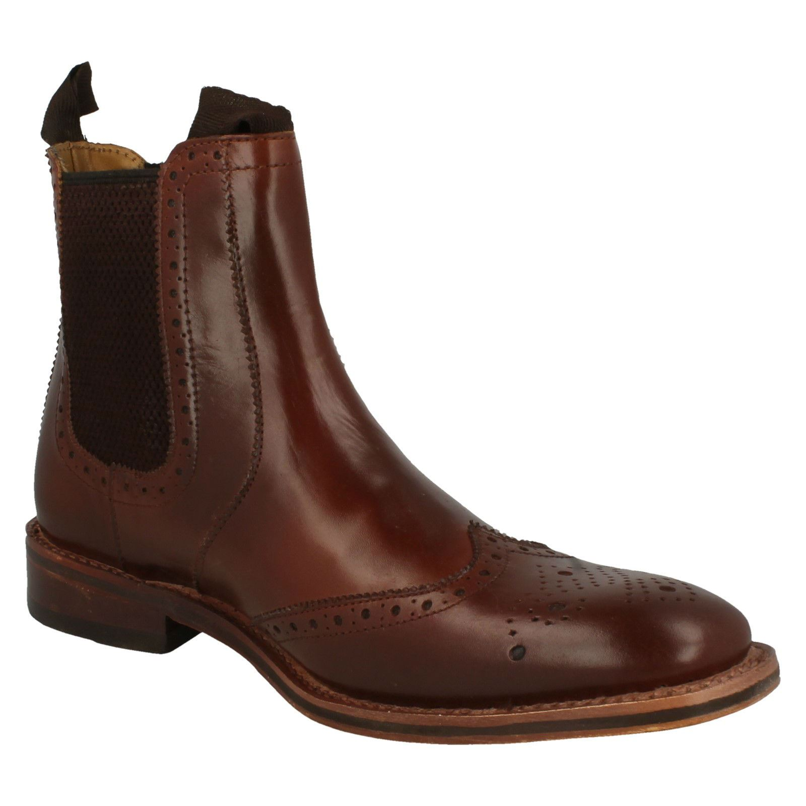 Mens-Catesby-Ankle-Boots-MCATESCW158T thumbnail 13
