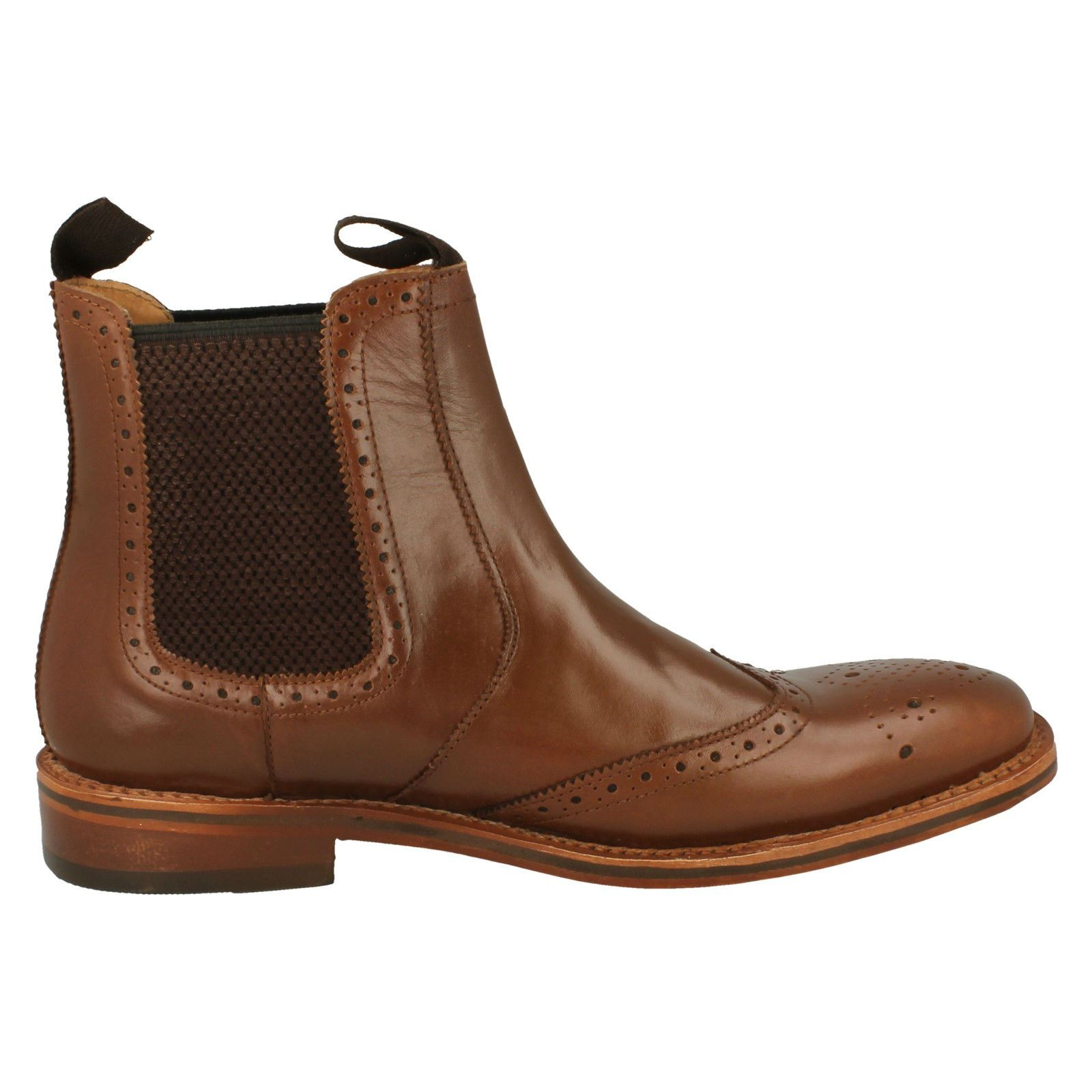 Mens-Catesby-Ankle-Boots-MCATESCW158T thumbnail 5