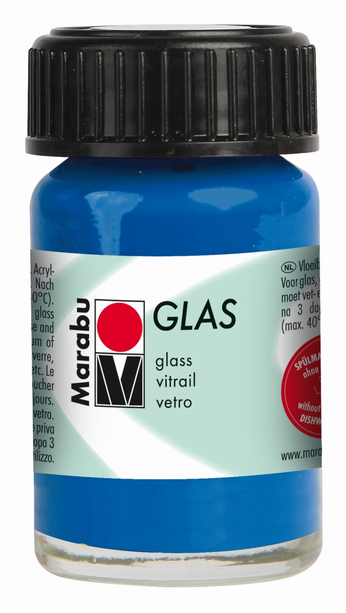Marabu glas paints water based translucent glass ceramic for Acrylic paint for glassware