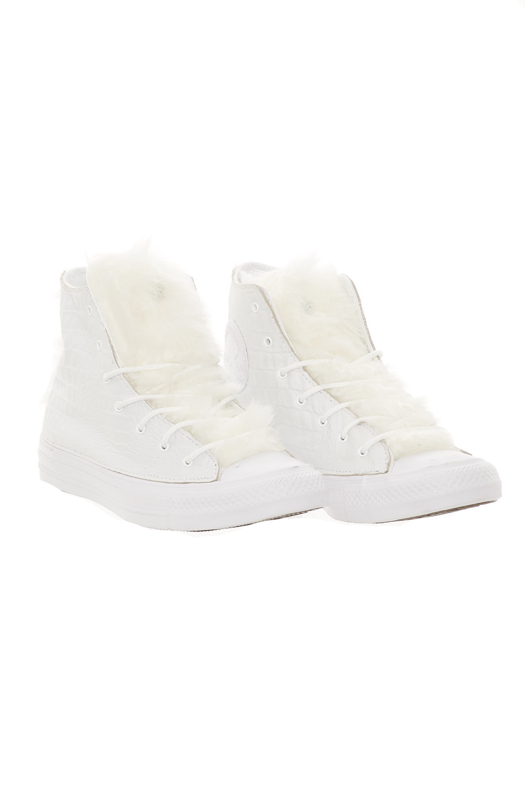 Converse CTAS CANVAS/LEATHER HI CANVAS/LEATHER CTAS LTD woman sneakers 7336e0