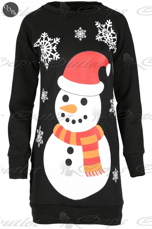 pull pour femmes no l bonhomme de neige polaire tricot. Black Bedroom Furniture Sets. Home Design Ideas