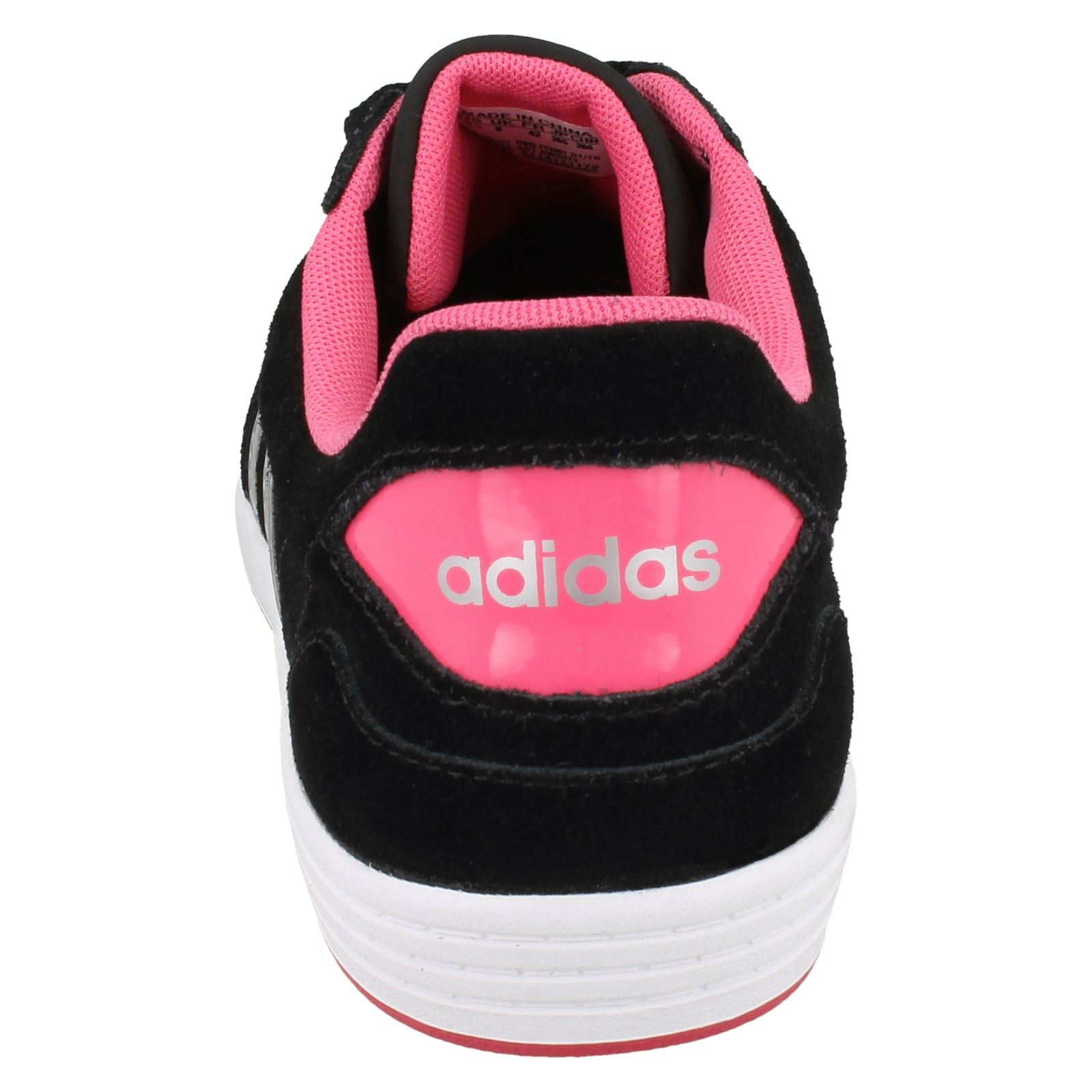 Ladies Adidas Hoops VL W AW5372 Lace Up Sport Trainers   eBay