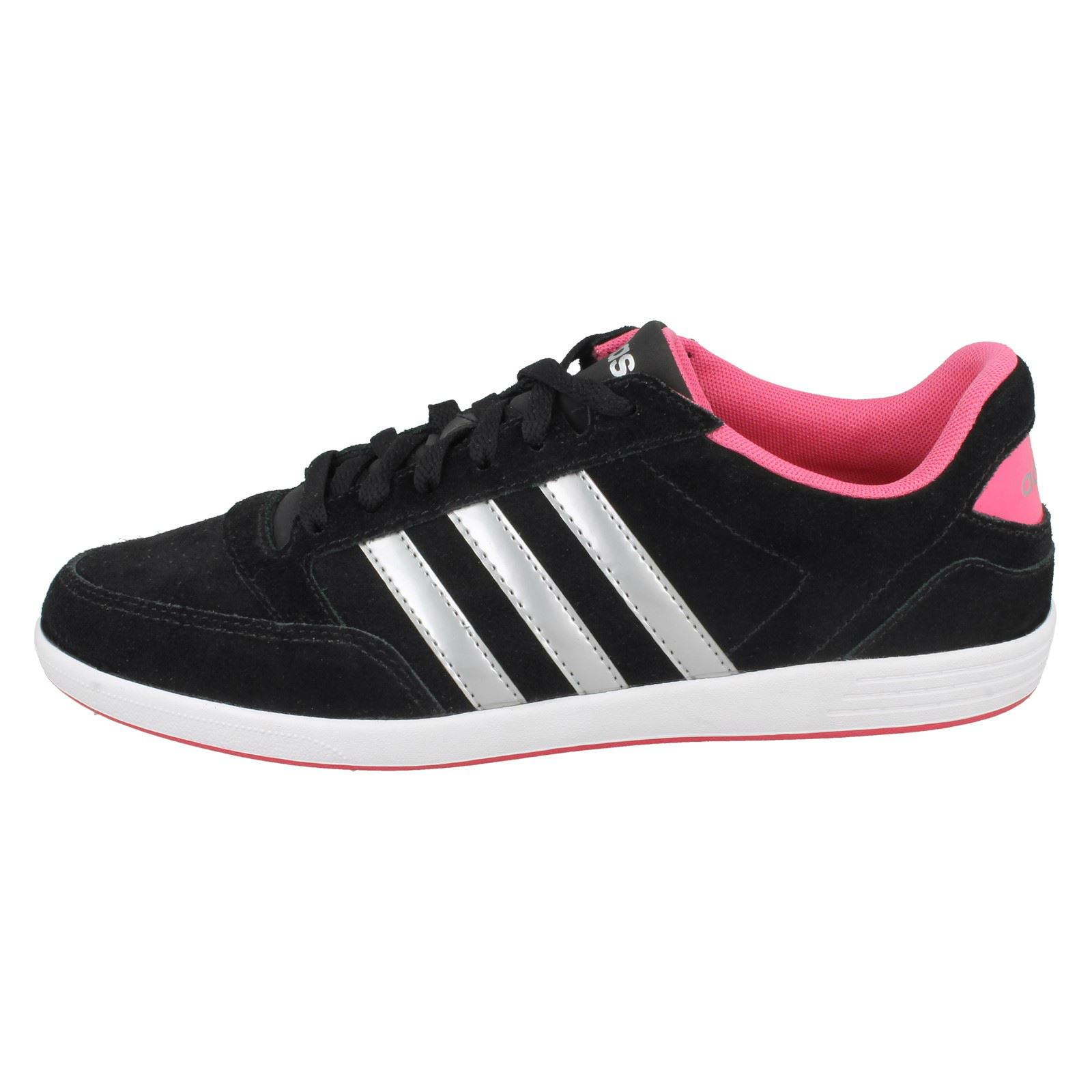 Aw5372 deporte para de Zapatillas mujer Vl cordones con Hoops W Adidas con cordones p85qPw