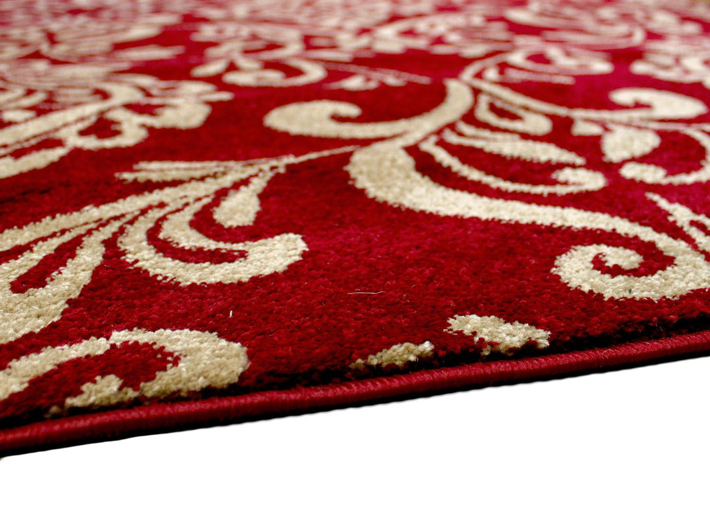 Modern contemporary soft touch cream black red beige home for Designer floor rugs