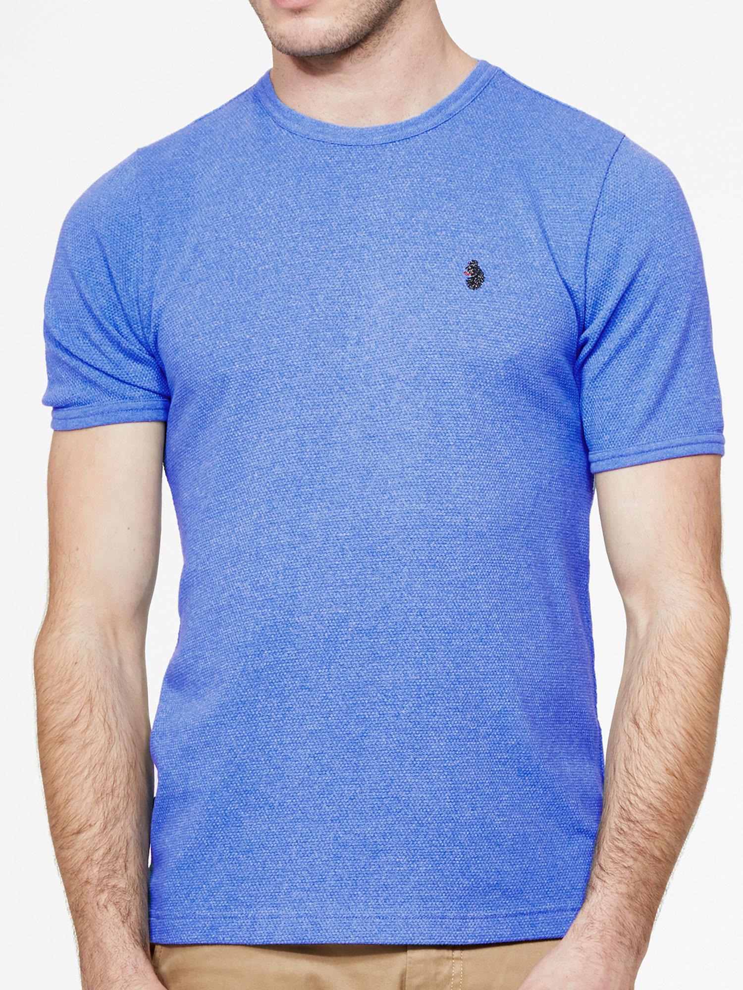Luke-1977-uomo-pantaloni-SERPENTE-2-girocollo-Waffle-di-Marca-T-shirt