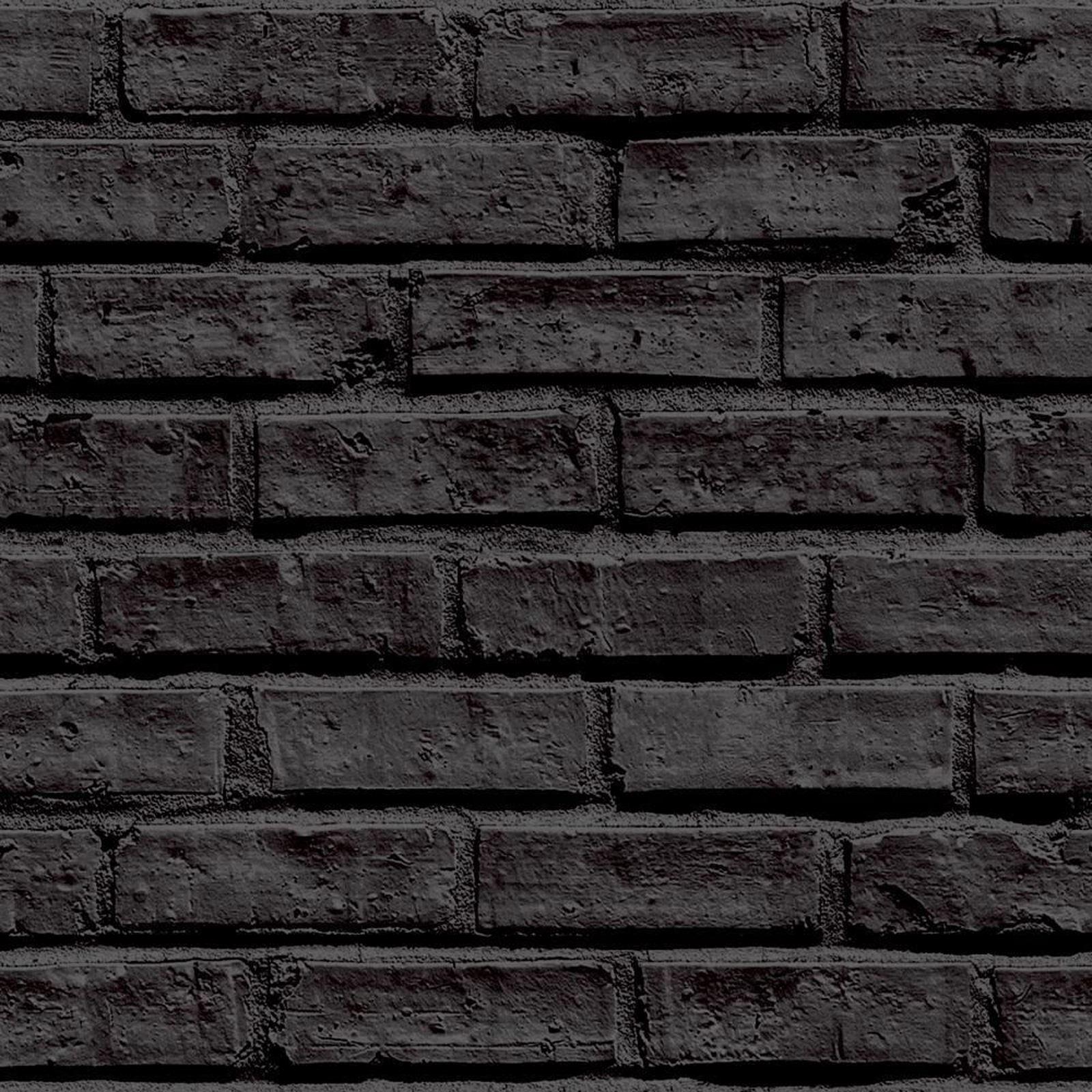 ziegel schiefer steineffekt tapete rustikale rot gewei ten grau schwarz mehr ebay. Black Bedroom Furniture Sets. Home Design Ideas
