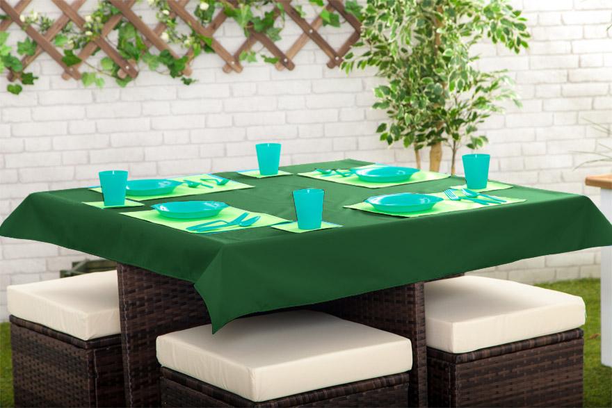 Outdoor Waterproof Garden Dining Table Cloths Place Mats  : 3318689189792736I129275GD201st20GREEN from www.ebay.com size 880 x 587 jpeg 155kB