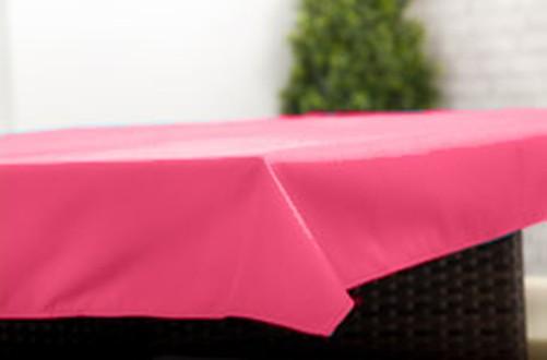 Pink 6 Pack of Coasters Outdoor Alfresco Waterproof Garden Dining Fabric