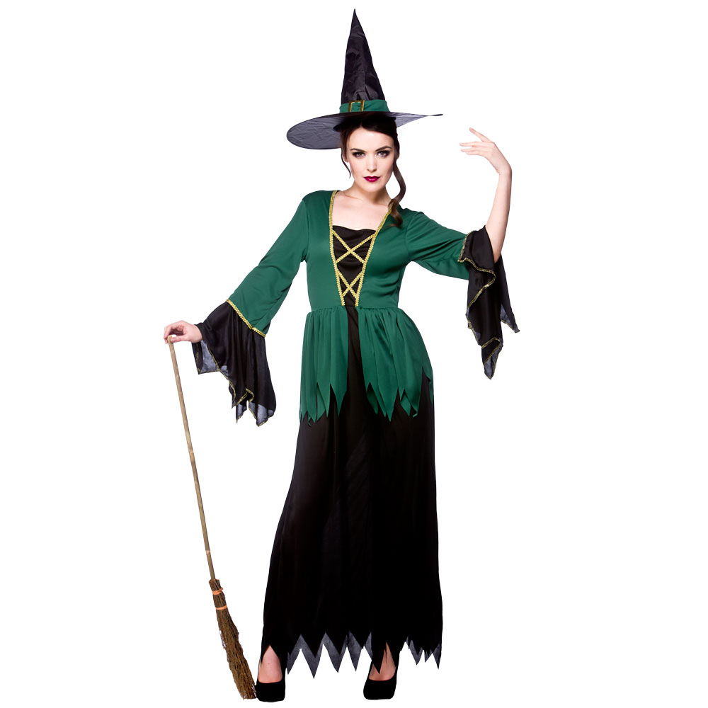 Adults-Halloween-Fancy-Dress-Costume-Ladies-Witches-Witch-  sc 1 st  eBay : ebay costumes for adults  - Germanpascual.Com