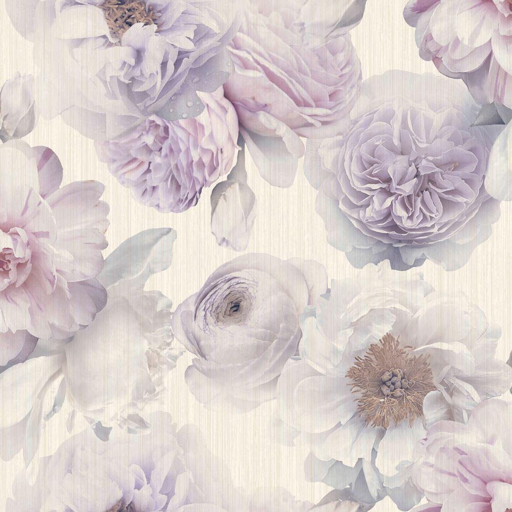 Pink Flowers Wallpaper: ARTHOUSE DIAMOND BLOOM FLORAL WALLPAPER FLOWERS GLITTER