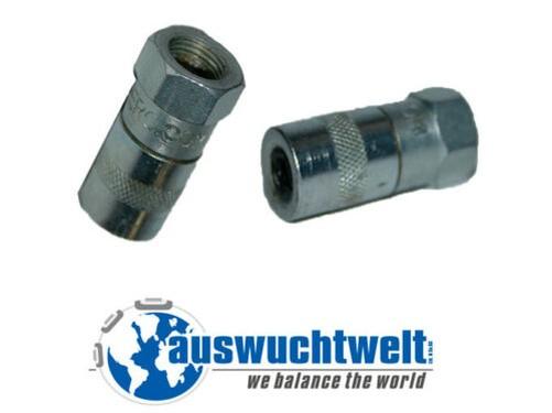 Schiebekupplung graissage embout buccal adaptateur pompe - Embout pompe a graisse ...