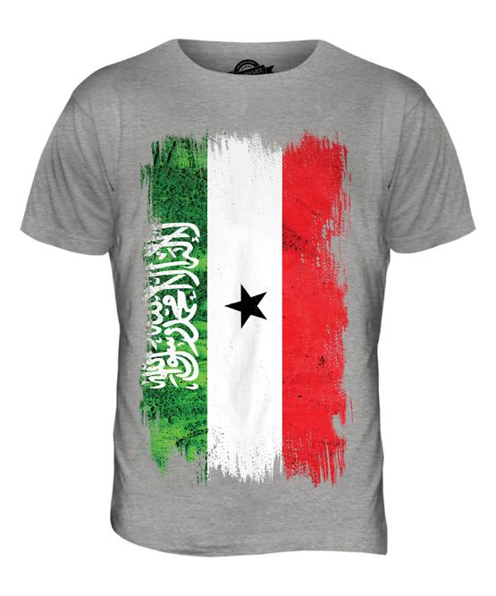 Somalia-Bandera-Grunge-Hombre-Camiseta-Top-Regalo-de-Futbol-Camiseta-Ropa-Jersey