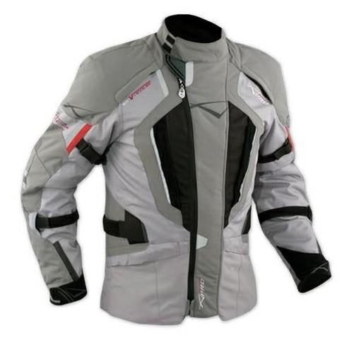 Chaqueta-Touring-Motorrad-Cordura-Tejido-Protectores-CE-Desmontable-Impermeable