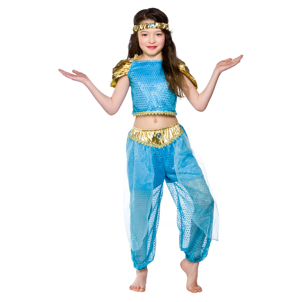 Child arabian princess outfit fancy dress costume book week jasmine child arabian princess outfit fancy dress costume book izmirmasajfo