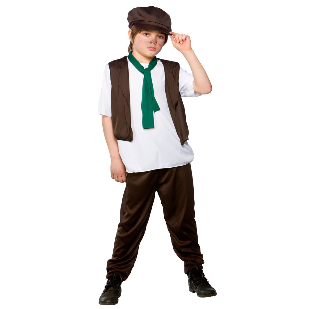 Victorian-Poor-Boy-Fancy-Dress-Costume-Oliver-Twist-  sc 1 st  eBay : victorian ladies costumes  - Germanpascual.Com