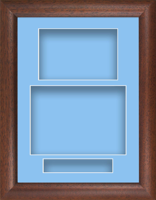 21.6cmx29.2cm dunkles Holz Kissen Bild Deep Schatten Kiste ...