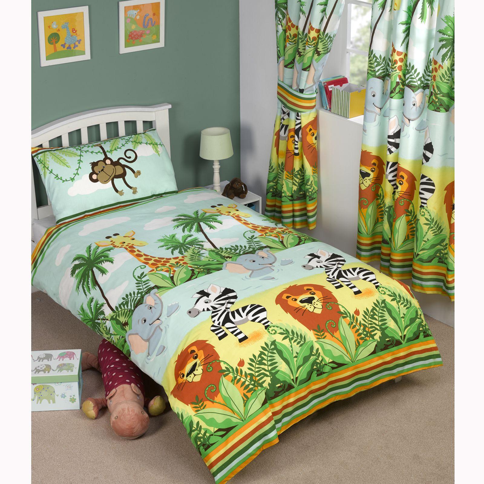 parure de lit pour gar ons simple double junior housse. Black Bedroom Furniture Sets. Home Design Ideas