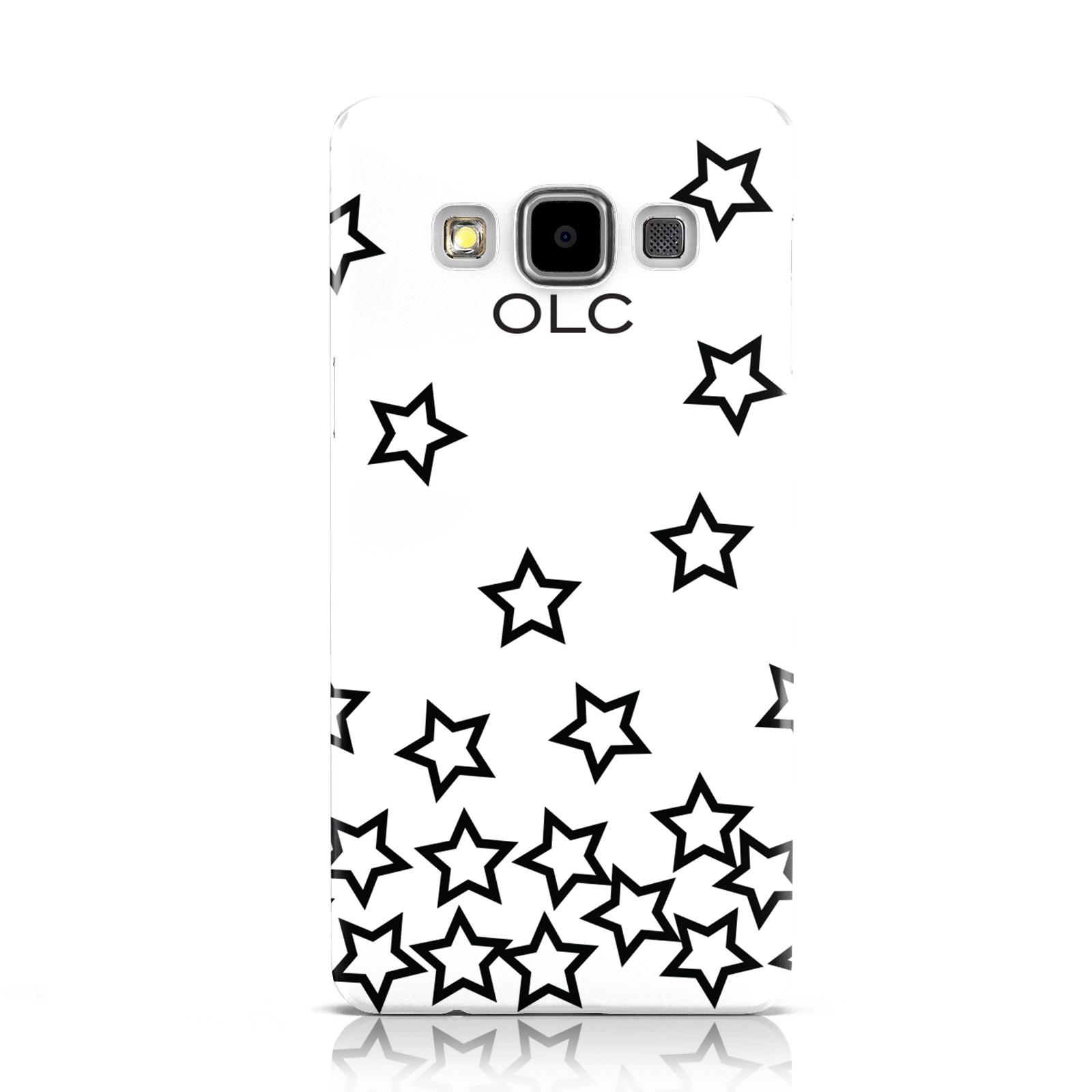 PERSONALIZADO-INICIALES-estrellas-Funda-para-Samsung-Galaxy-TELEFONOS-MoVILES