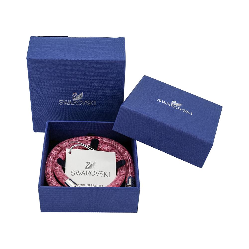 Swarovski-Stardust-Double-Wrap-Bracelet-Choker-Choose-Color-amp-Size