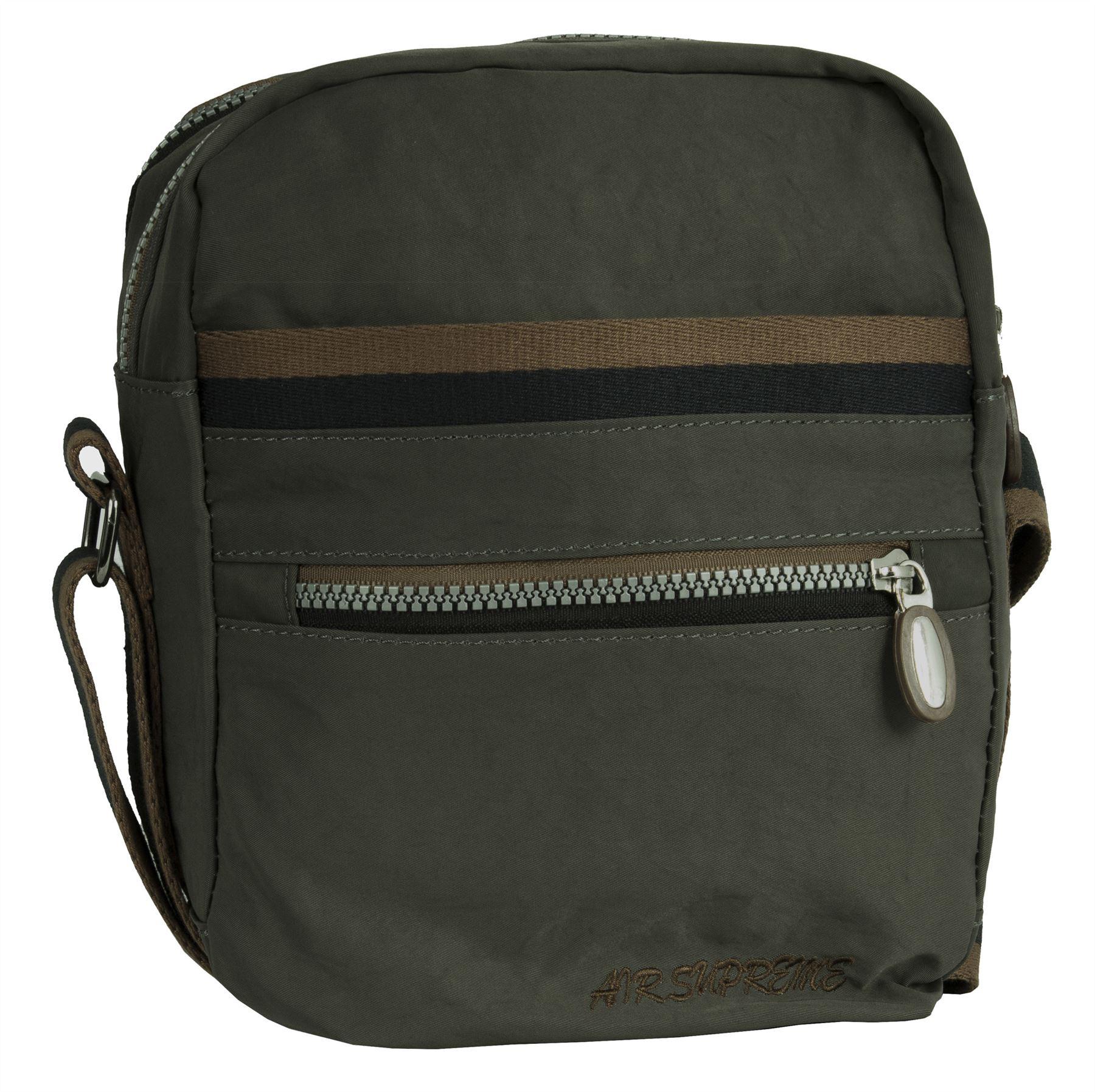 Big Handbag Shop unisex Stoff leicht klein Schultertasche Schultertasche