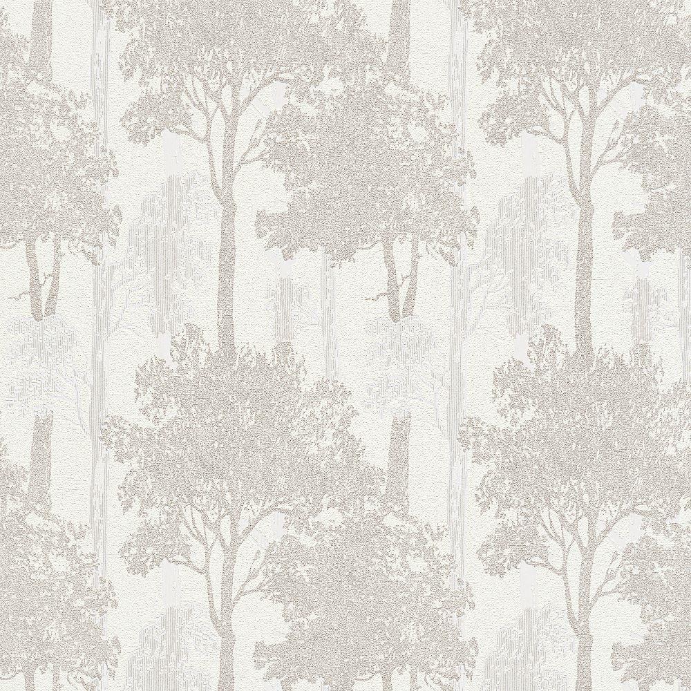 erismann campagne for t motif papier peint arbres bois motif textur paillet ebay. Black Bedroom Furniture Sets. Home Design Ideas