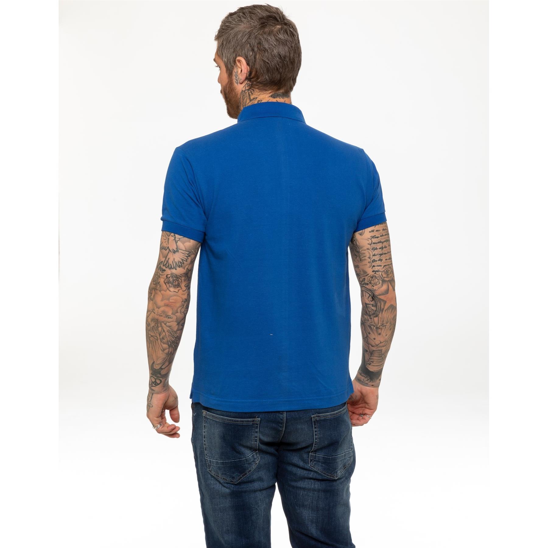 Indexbild 50 - Herren Polohemd Freizeit T-Shirts Neu Schlicht Kurzärmeliges Regular Fit