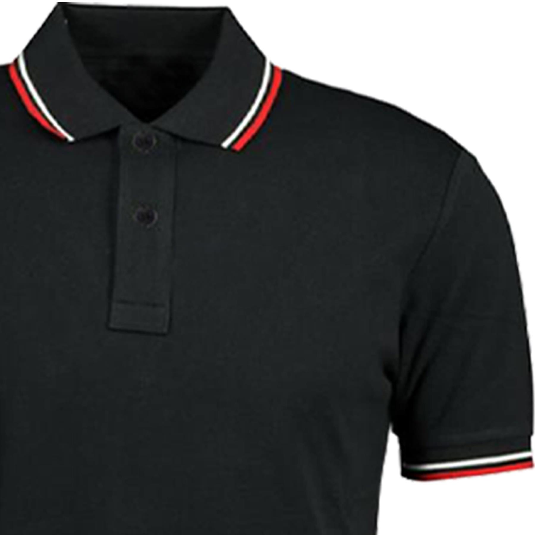 Indexbild 69 - Herren Polohemd Freizeit T-Shirts Neu Schlicht Kurzärmeliges Regular Fit