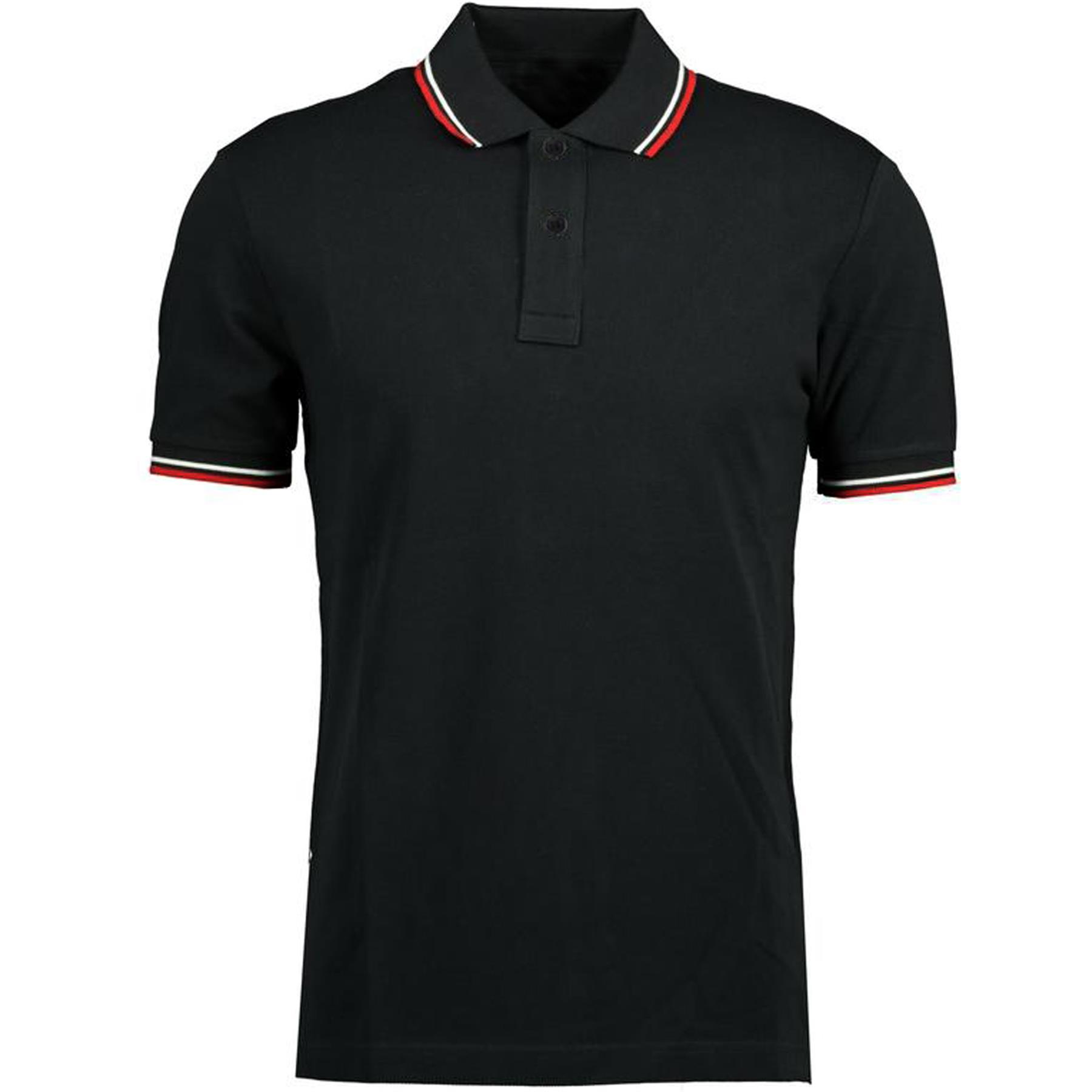 Indexbild 68 - Herren Polohemd Freizeit T-Shirts Neu Schlicht Kurzärmeliges Regular Fit