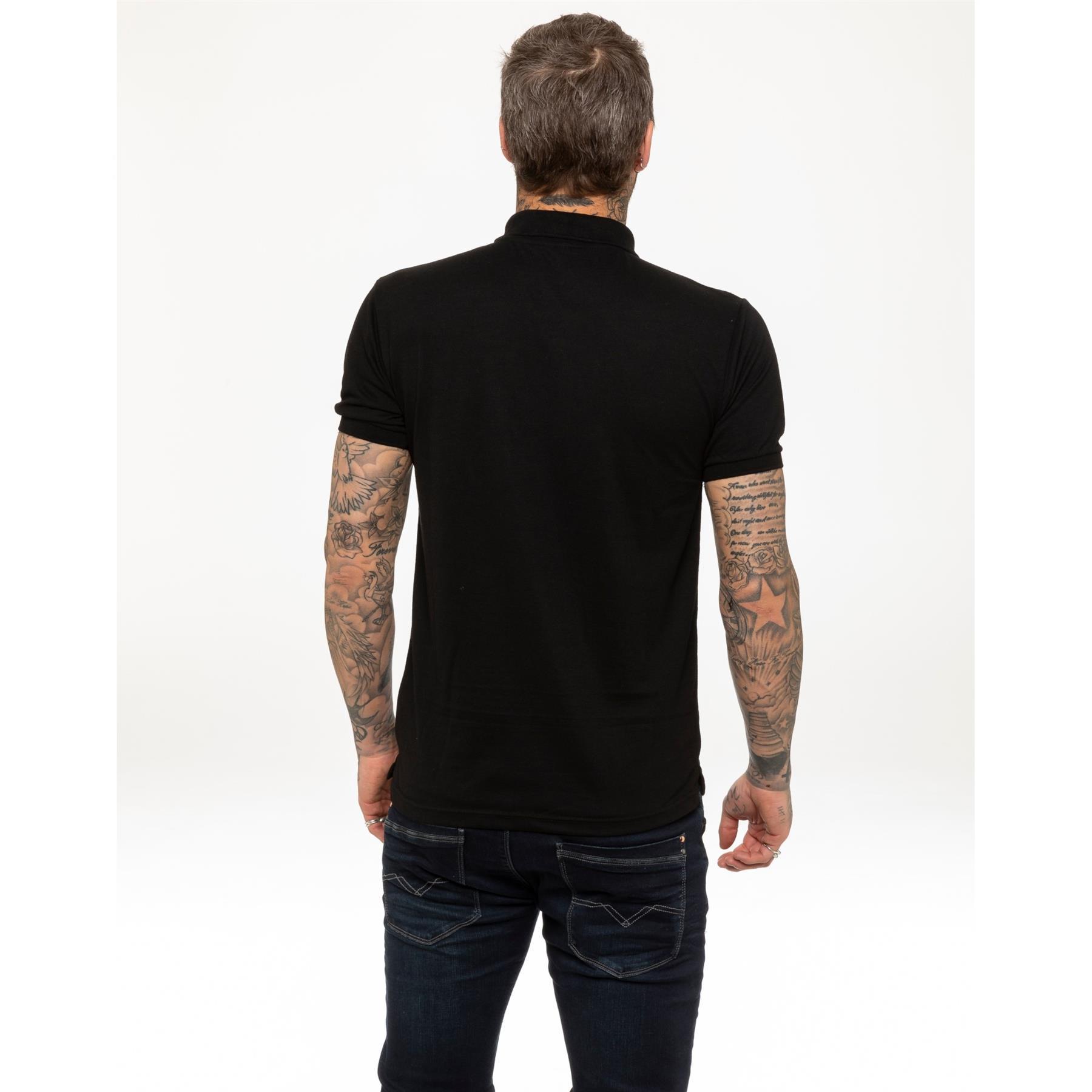 Indexbild 4 - Herren Polohemd Freizeit T-Shirts Neu Schlicht Kurzärmeliges Regular Fit