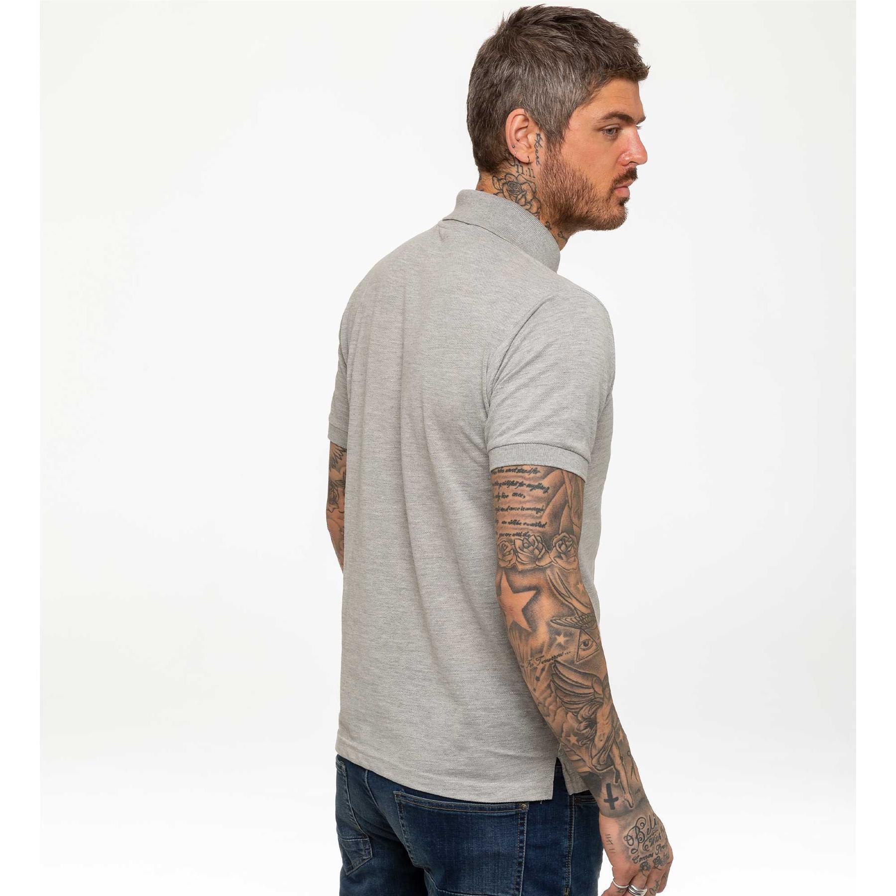 Indexbild 23 - Herren Polohemd Freizeit T-Shirts Neu Schlicht Kurzärmeliges Regular Fit